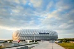 Arena dell'Allianz a Monaco di Baviera Fotografia Stock