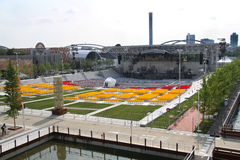 Arena 2015 dell'Expo Immagini Stock