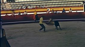 Arena della tauromachia di Ibiza stock footage