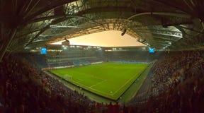 Arena dello stadio di Dnipro Immagini Stock Libere da Diritti