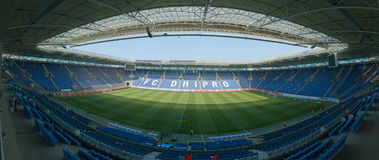 Arena dello stadio di Dnipro Fotografie Stock