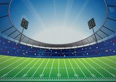 Arena dello stadio di football americano Fotografie Stock Libere da Diritti