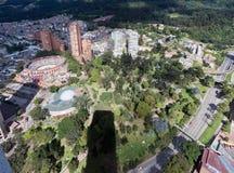 Arena di Bullfight a Bogota Colombia fotografia stock