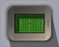 Arena di calcio Fotografia Stock