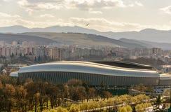Arena di Cluj Fotografia Stock
