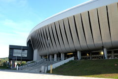 Arena di Cluj Napoca fotografia stock