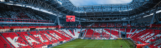 Arena di Kazan dei supporti Immagine Stock Libera da Diritti