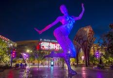 Arena di Las Vegas T-Mobile Fotografie Stock