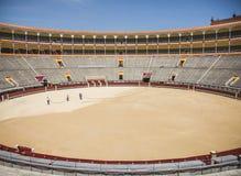Arena di Las Ventas, Madrid fotografie stock