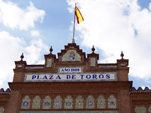 Arena di Las Ventas a Madrid fotografia stock
