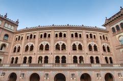 Arena di Las Ventas a Madrid, Spagna fotografie stock