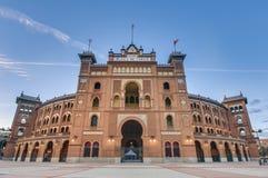 Arena di Las Ventas a Madrid, Spagna fotografia stock