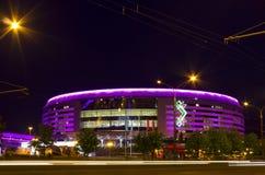Arena di Minsk, Bielorussia Fotografie Stock Libere da Diritti