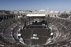 Arena di Nimes Fotografia Stock Libera da Diritti