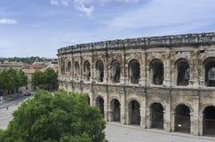 Arena di Nimes fotografie stock libere da diritti