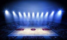 Arena di pallacanestro illustrazione vettoriale