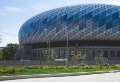 Arena di sport moderna immagine stock libera da diritti