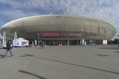 Arena di Tauron a Cracovia, Polonia fotografia stock