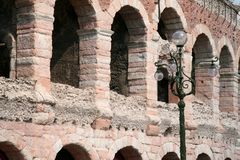 Arena di Verona. The old arena of Verona, Italy Royalty Free Stock Images