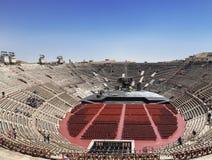 Arena di Verona - ancient Roman amphitheatre in Verona Royalty Free Stock Image