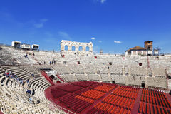Arena di Verona - ancient Roman amphitheatre in Verona Royalty Free Stock Photography