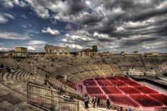 Arena. Di Verona, cloudy day, Italy Stock Images