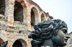 Verona Italy. Arena di Verona  at the historic city of  Verona, Italy Royalty Free Stock Image