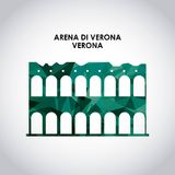 Arena di verona icon. Italy culture design. Vector graphic Stock Photos