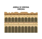 Arena di verona icon. Italy culture design. Vector graphic Royalty Free Stock Photography