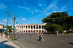 Arena di Verona in Italy Royalty Free Stock Image