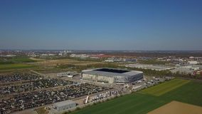 Arena di WWK - lo stadio di football americano ufficiale del FC Augusta archivi video
