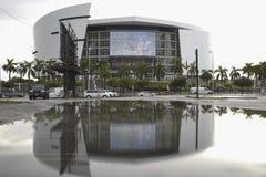 Arena do AA com reflexão na água Foto de Stock Royalty Free