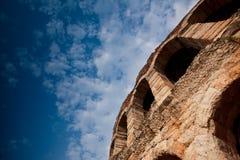 Arena do anfiteatro em Verona, Itália Fotografia de Stock Royalty Free