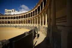 Arena do Bullfight em Ronda Fotografia de Stock