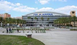 Arena do CFE em UCF foto de stock