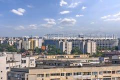 Arena do nacional de Bucareste. Foto de Stock Royalty Free