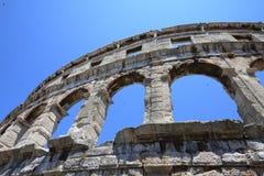 Arena dos Pula, Croatia imagem de stock royalty free