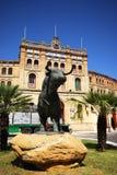 Arena e toro, EL Puerto de Santa Maria Immagini Stock Libere da Diritti