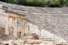 Arena en Epidavros Imagen de archivo libre de regalías