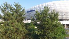 Arena entre los árboles, visión aérea de Allianz desde el abejón
