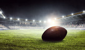 Arena för amerikansk fotboll Blandat massmedia arkivfoto