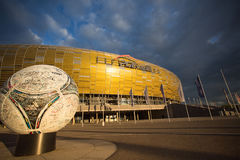 Arena Football Stadium in Gdansk, Poland Royalty Free Stock Image