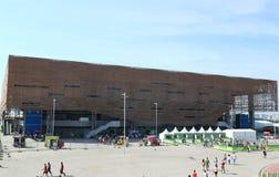 A arena futura ou a arena fazem Futuro no parque olímpico em Rio de janeiro Imagem de Stock Royalty Free