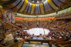 Arena of the Great Moscow State Circus Royalty Free Stock Photos