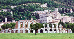 Arena Gubbio Royalty Free Stock Photos