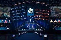 Arena het ontvangen een gokkentoernooien Stock Fotografie