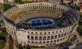 Arena i Pula Royaltyfria Bilder