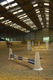 Arena interna da equitação Foto de Stock Royalty Free