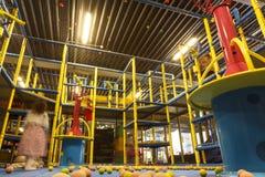 Arena interna do campo de jogos Fotografia de Stock