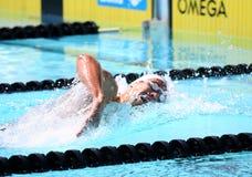 A arena internacional da reunião de XXIIIe da natação Fotografia de Stock